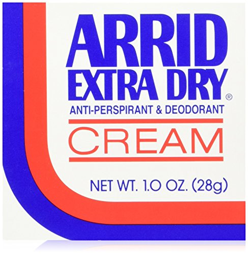 Arrid Extra Dry Anti-Perspirant & Deodorant Cream 1 Oz (Pack Of 6)