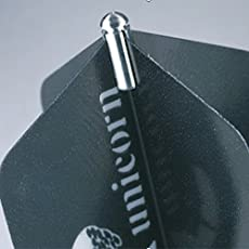 1 x Set of Unicorn Dart Flight Protectors Silber