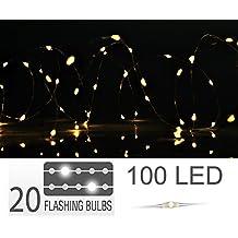 Led Lichterkette Funkeln.Lichterkette Funkeleffekt Suchergebnis Auf Amazon De Fur