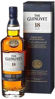 GLENLIVET 18 Year Old Speyside Malt Whisky 70cl Bottle