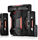 #7: Jack Martin X7 Bluetooth/SD Card/Pendrive 3.1 Home Theatre Speaker System with Built in FM Radio & Karaoke Feature with 2 Mic Input