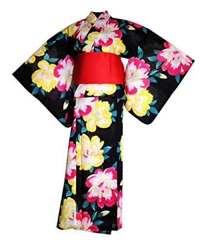 myKimono japonés Yukata Kimono Tradicional 594