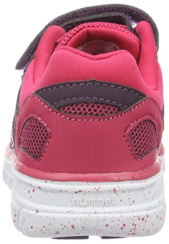 Hummel Crosslite Sneaker JR, Chaussures de Fitness Mixte Enfant Violet (Blackberry Wine)