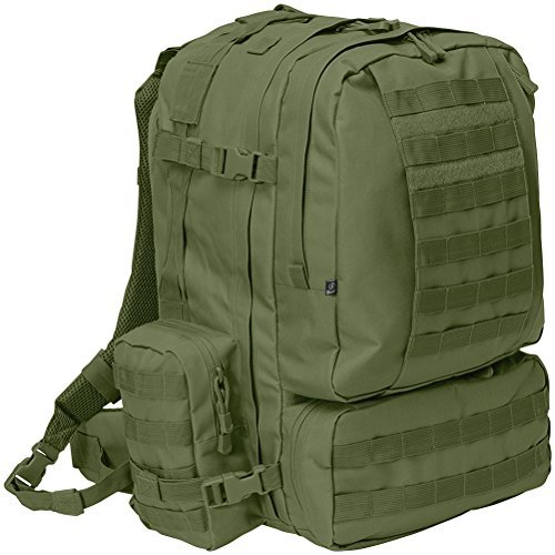 Brandit US Cooper 3-Day Pack Oliv (Clam Shell Tasche)