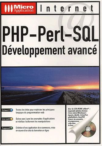 PHP, PERL, SQL - DEVELOPPEMENT AVANCE