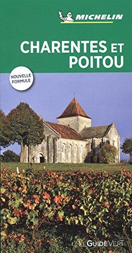 Charentes et Poitou, guide vert 2018