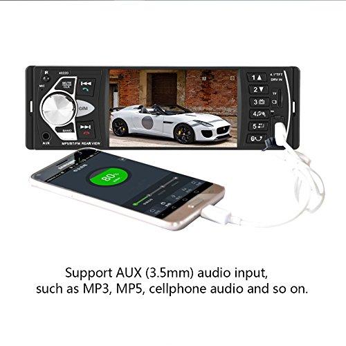 Pouces Mains Qiilu 4 1 Bluetooth Lecteur Vidéo Mp5 Libres Voiture Hd KJcFl1
