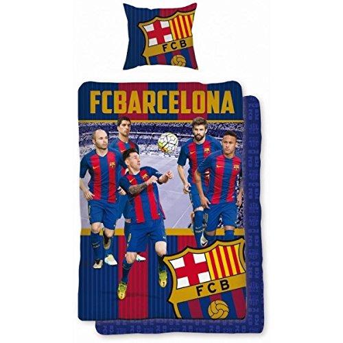 FC Barcelona Messi en-tête única funda de edredón y funda de almohada...