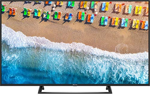 Hisense H43BE7200 108 cm (43 Zoll) Fernseher (4K Ultra HD, HDR, Triple Tuner, Smart-TV, Mittelfuß) (Led Tv Smart-tv 42)