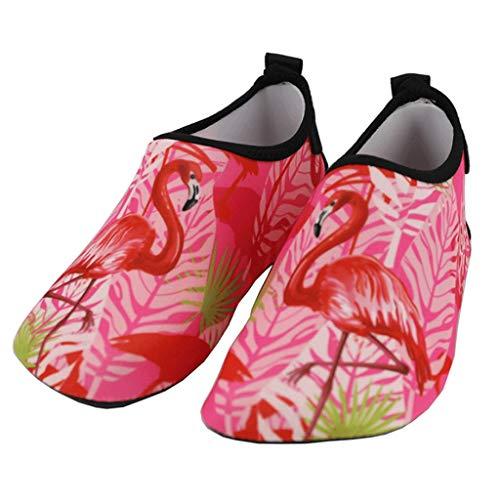 GDSSX 【 Outdoor Indoor Reise Schuhe Strand Schwimmen Schuhe Und Socken Wattieren Schuhe Tauchen Schuhe Upstream Schuhe Kleinkind Wasserschuhe für Frauen, Gummi, 40/41 -