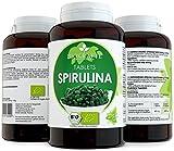 Bio Spirulina Tabletten Zertifizierte Ergänzung 375 Bio Presslinge 400 mg