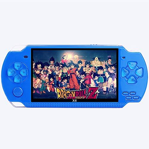 MX kingdom Handheld Spielkonsole Retro Videospiel-Player 4.3'' HD-Bildschirm System Tragbare Retro-Spielekonsole mit Integrierten Klassischen Spielen, TV-Ausgang -