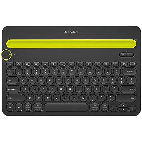 Logitech K480 - Teclado multidispositivo Bluetooth, negro