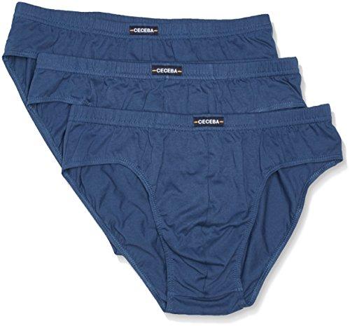 Ceceba Herren Sport 3er Pack Slip, Blau (Midnight Blue 6979), XXXXX-Large (Herstellergröße: 12) (erPack 3 - Herren 3 Pack-slip