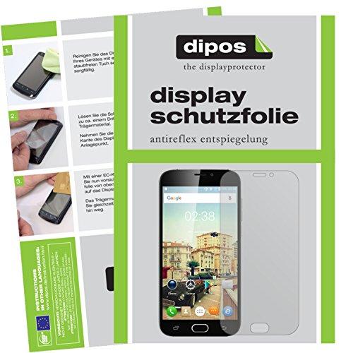 dipos I 6X Schutzfolie matt passend für Doogee X9 Pro Folie Bildschirmschutzfolie