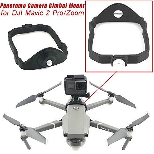 Wokee Kamerahalter, Support 360 Panorama-Kamera, Gimbal Mount Stabilisator, für DJI Mavic 2 Pro / Zoom