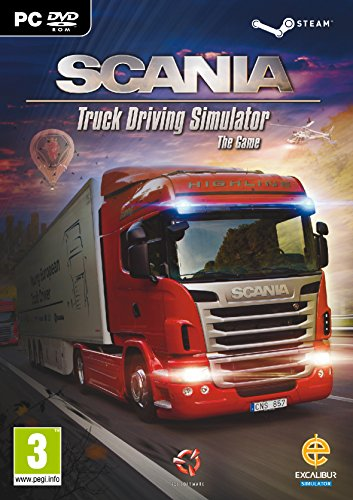 Preisvergleich Produktbild Scania,  Truck Driving Simulator PC