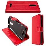 caseroxx Hülle/Tasche Bookstyle-Case Gigaset GS160 / GS170 Handy-Tasche, Wallet-Case Klapptasche in rot