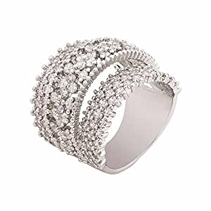 SHAZE Diamond Studded Fashion Ring for Gifting Rings for Women Stylish |Rings for Women Stylish|Ring for Girlfriend
