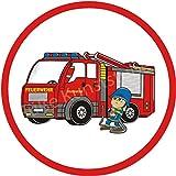 Tortenaufleger Feuerwehrauto1 / 20 cm Ø