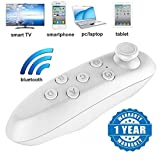 #7: Captcha VR Remote Control Bluetooth Wireless Mini Portable Remote Controller with Controller Selfie ,Wireless Mouse,Video, Music, Mouse, Ebook for iOS Android Smartphones Tablets PC