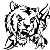 #3: isee360 Tribal Tiger Car Sticker