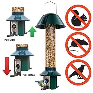 Squirrel Proof Wild Bird Feeder - Roamwild PestOff (Mixed Seed / Sunflower Heart Feeder) 24