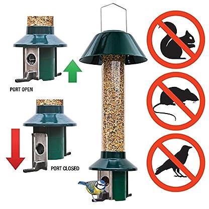 Squirrel Proof Wild Bird Feeder - Roamwild PestOff (Mixed Seed / Sunflower Heart Feeder) 1