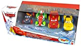Disney Pixar Cars Hydro Wheels 4-er Pack - Lightning McQueen, Francesco Bernoulli, Jeff Gorvette und Max Schnell