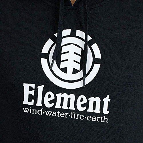 Element Hoody Vertical schwarz Schwarz
