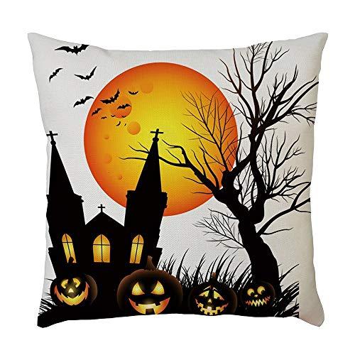 YSFWL Kissenbezug Halloween 45 X...