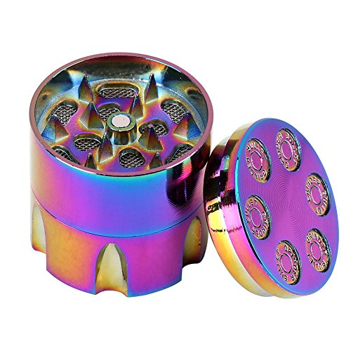 Tragbare Mini-handliche Metall Grinder Crusher 3 Schichten Zink Legierung