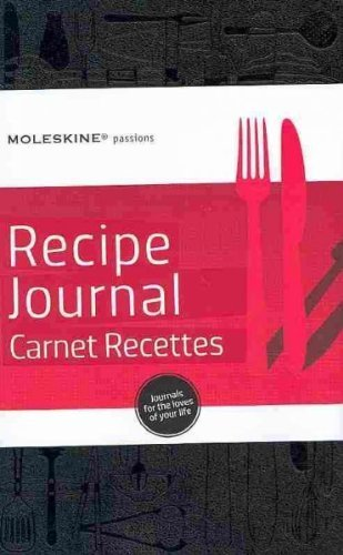 Descargar Libro (Moleskine Passions Recipe Journal/Carnet Recettes [With 242 Adhesive Labels]) By Moleskine (Author) Hardcover on (04 , 2010) de Unknown