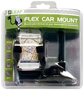 iPhone/ iPod/ Android/ GPS/ MP3 Universal Flex Car Mount - LEAF
