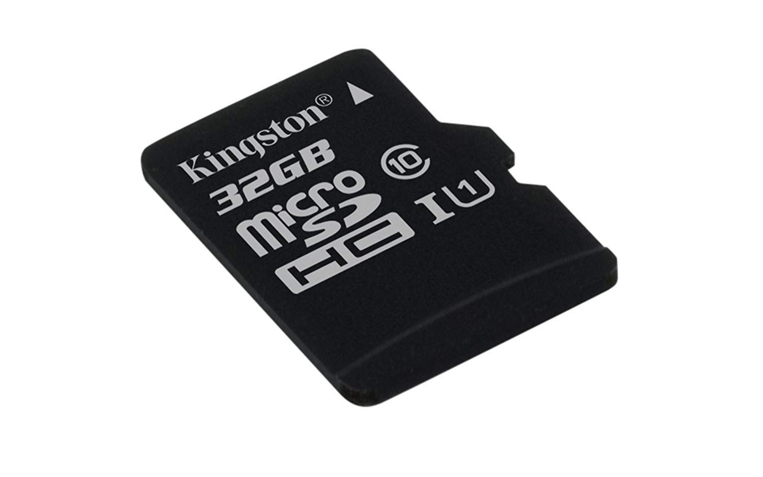 Kingston Canvas Select (SDCS/16GBSP) MicroSD Class 10 UHS-I Speeds Up to 80 MB/s Read (Card only) - Bring Your HD Videos…