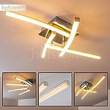 Decken Leuchte 4 Flammig Mit Drehbaren Leuchtelementen LED Deckenlampe Aus Metall Im