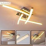 Decken-Leuchte 4-flammig mit drehbaren Leuchtelementen – LED-Deckenlampe aus Metall im minimalistischen Design – Wohnzimmerlampe – Flurbeleuchtung – Küchenlicht