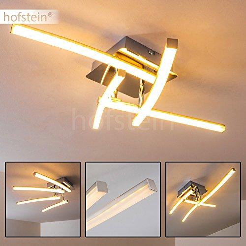 ... Decken Leuchte 4 Flammig Mit Drehbaren Leuchtelementen U2013 LED Deckenlampe  Aus Metall Im