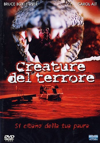 Creature del terrore [IT Import]