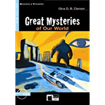 Great Mysteries of Our World - Buch mit Audio-CD (Black Cat Reading & Training - Step 3)