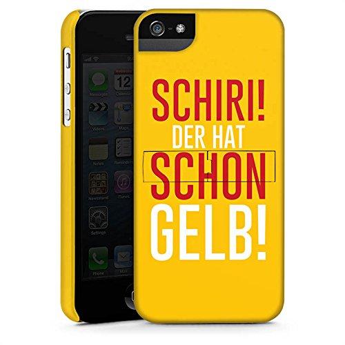 Apple iPhone X Silikon Hülle Case Schutzhülle Fußball Kreisliga Schiri Premium Case StandUp
