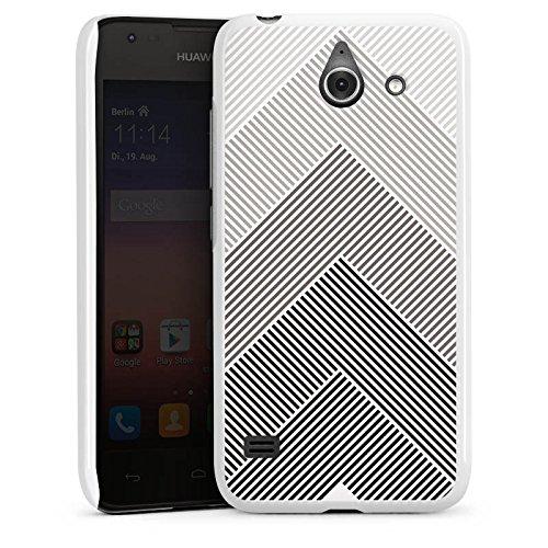 DeinDesign Huawei Ascend Y550 Hülle Case Handyhülle Muster Schwarz Pattern