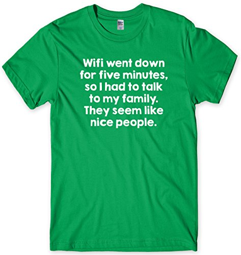 Wifi Went Down For Five Minutes Mens Premium T-Shirt