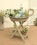 ZHANWEI Blumenständer Massivholz Blumen Racks Pastoral Retro Haus Regal Palette Lagerung Regal Garten Ecke Blumenregal