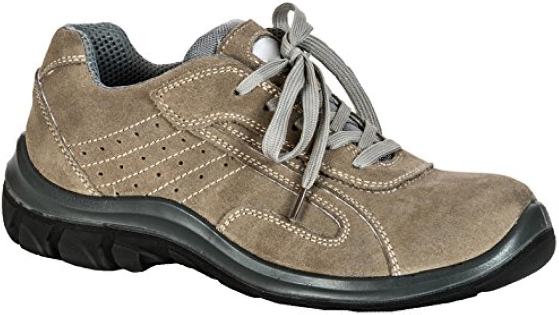 Seba 575 CE Zapato baja S1P SRC, color beige, talla 45