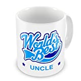 Best Uncle Cups - World's Best Uncle Novelty Gift Mug - Blue Review