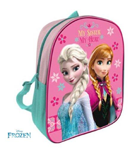 Preisvergleich Produktbild Disney Frozen Eis Prinzessin / Princess - Rucksack für Mädchen Pink - tolle Geschenkidee für Kinder