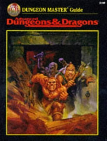 Dungeon Master Guide (Advanced Dungeons & Dragons) by Dungeons & Dragons (1998) Hardcover
