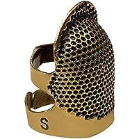 SODIAL Dedales de Costura, Dedal de Costura Retro Protector de Dedos Protector de Escudo Dedal