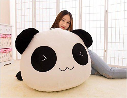 YunNasi 70cm Kreative Netter Plüschtier Panda Puppe Kissen Geburtstagsgeschenk Weihnachtsgeschenke